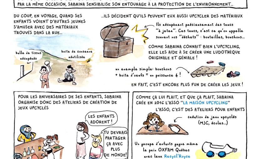 MAISON UPCYCLING [BD Magasine Agir à Lyon #Novembre 2018]