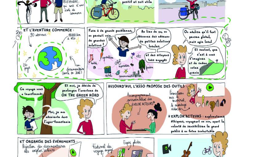 On The Green Road [BD du magazine Agir à Lyon #Mars19]