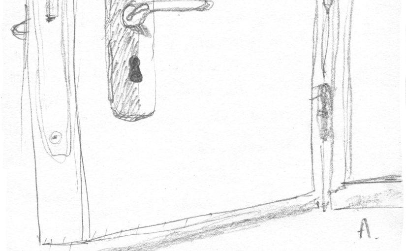 La petite énorme porte
