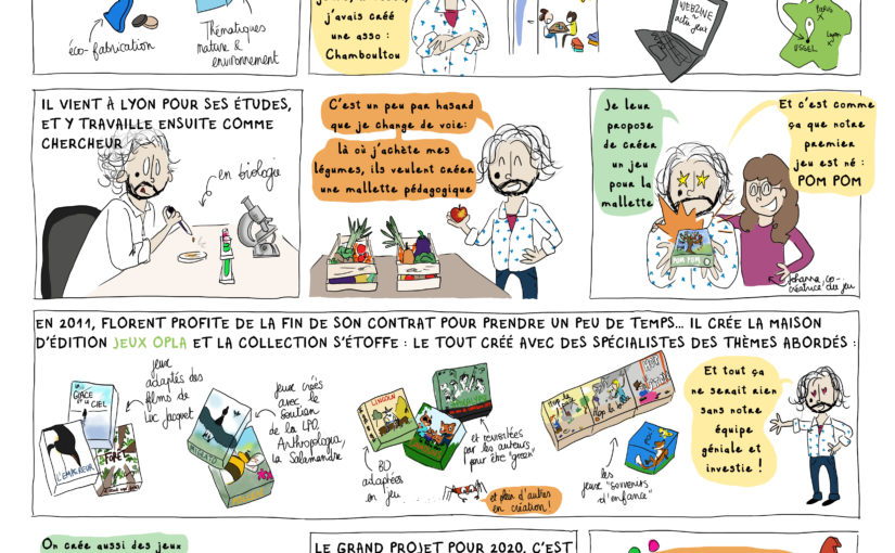Jeux OPLA [BD du magazine Agir à Lyon #Avril19]