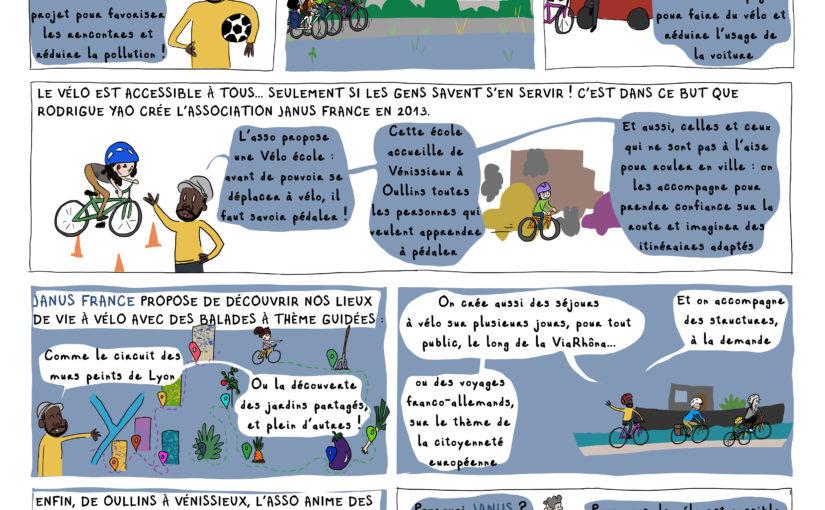 Janus France [BD du magazine Agir à Lyon #Juillet-Août19]