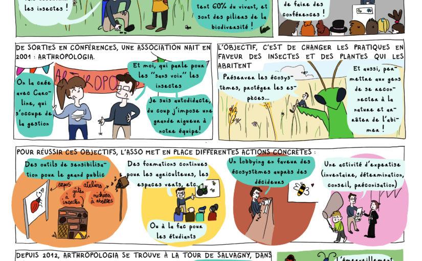 Arthropologia [BD Agir à Lyon #Avril 2020]