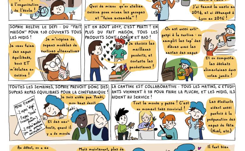 La Cantine de la Cinéfabrique [BD Agir à Lyon #Mars 2020]