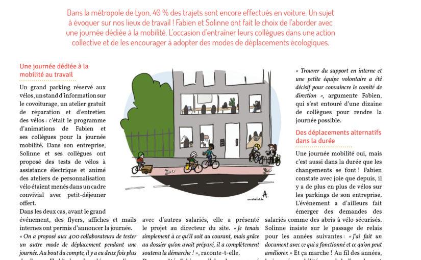 Défi tous Ambassadeurs du changement : une journée écomobilité au travail ! Illustration #4