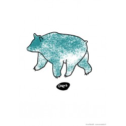 Affiches animaux : OURS...