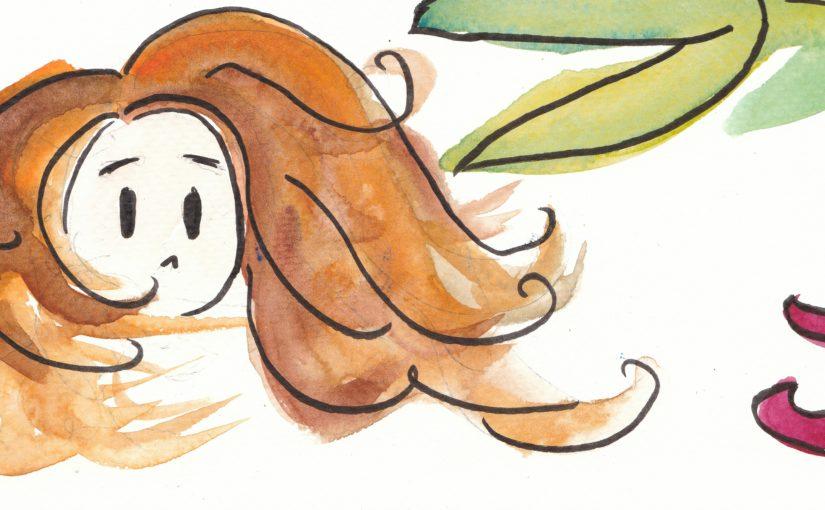 Cheveux aux vents