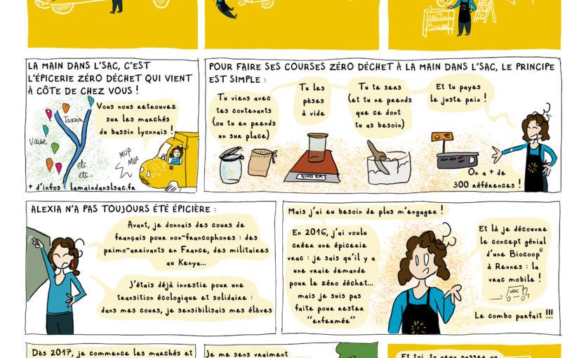 La main dans l'sac [BD du magazine Agir à Lyon #Mai19]