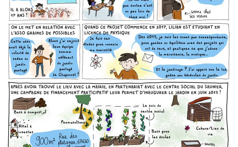 Le jardin des possibles [BD du magazine Agir à Lyon #Juin19]