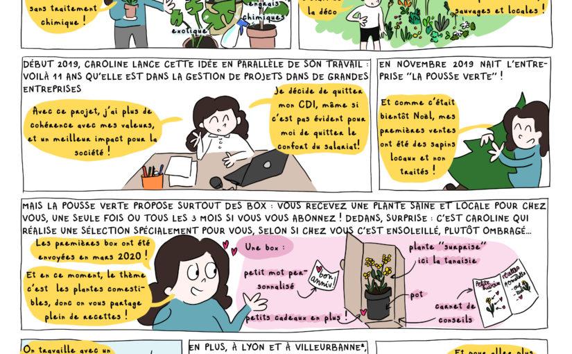 La Pousse Verte : des plantes saines et locales en ville !