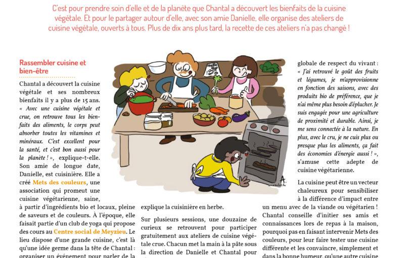 Défi : atelier cuisine végétale !