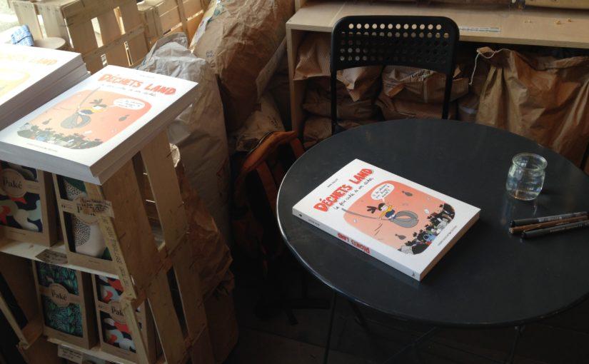 Dédicaces à l'épicerie Tout part en vrac à Saint Genis, le 07/04/2021 !