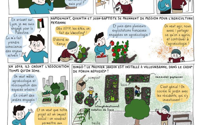 Temps qu'on sème, des plantes pour tous !
