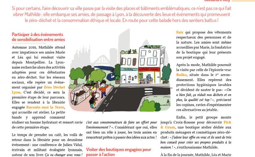 Défi : faire visiter le Lyon écologique et solidaire !